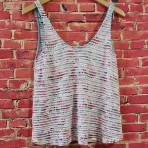 Zara trafaluc Sleeveless knit top size Small